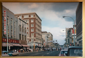 1970 4th Street Downtown Sioux City Canvas Art