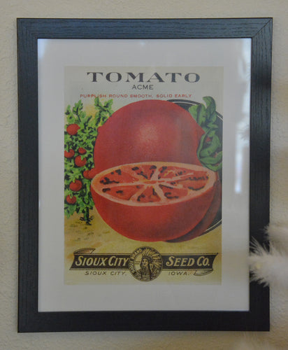 Tomato Print, Sioux City Seed Co. Art