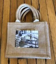 Load image into Gallery viewer, Canvas Tote with Window to Personalize