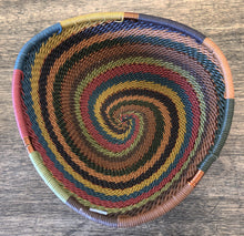Load image into Gallery viewer, Fair Trade Small Triangle Telephone Wire Basket