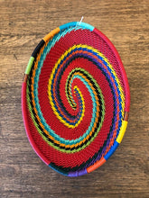 Load image into Gallery viewer, Fair Trade Small Oval Telephone Wire Basket