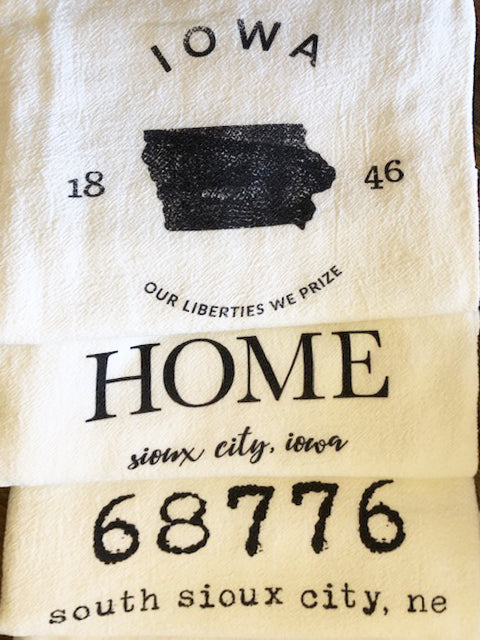 100% Organic Tea Towels