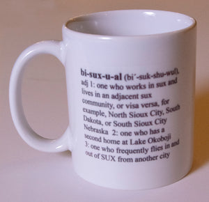 Bisuxual Coffee Mug