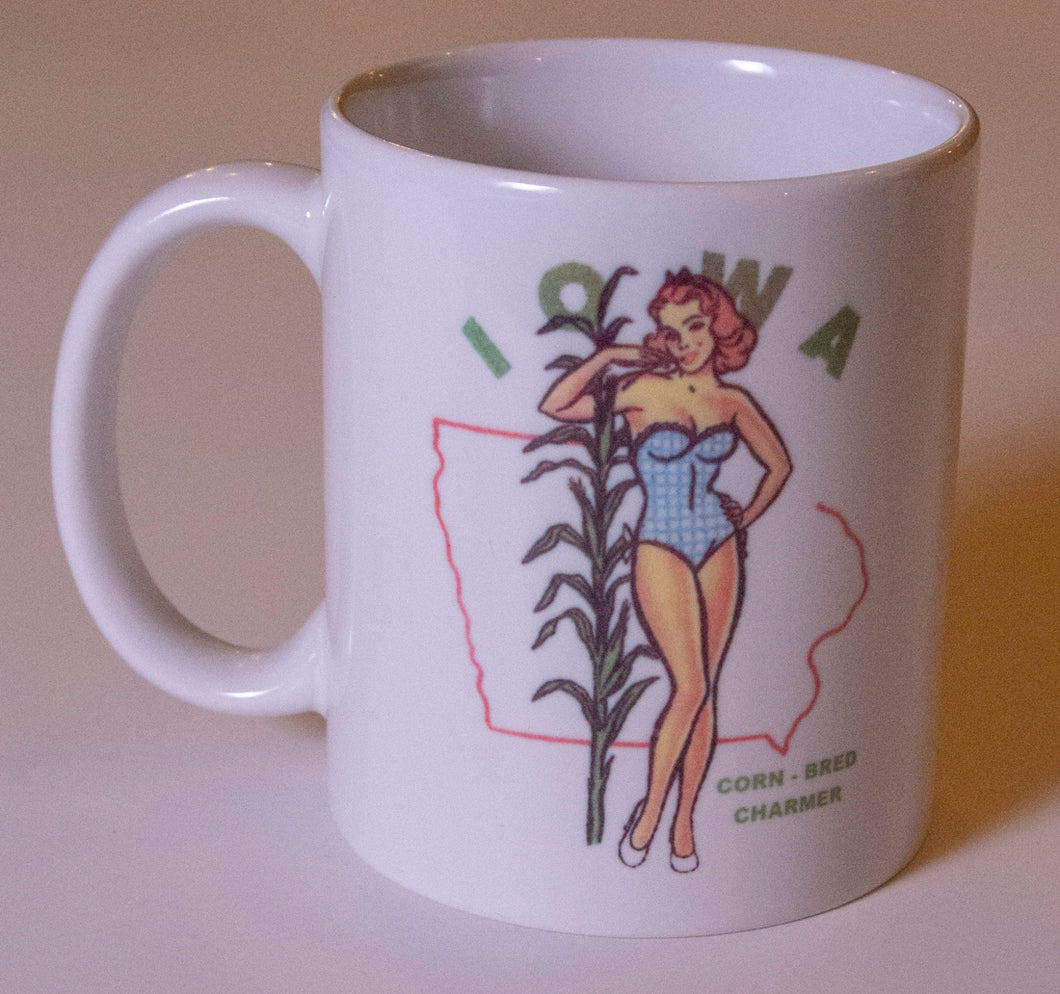 Iowa Corn-Bred Charmer Coffee Mug