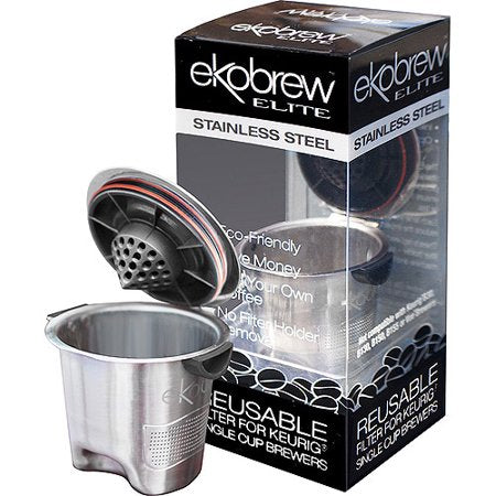 Ekobrew Elite Reusable KCup Stainless Steel Filter CLOSEOUT