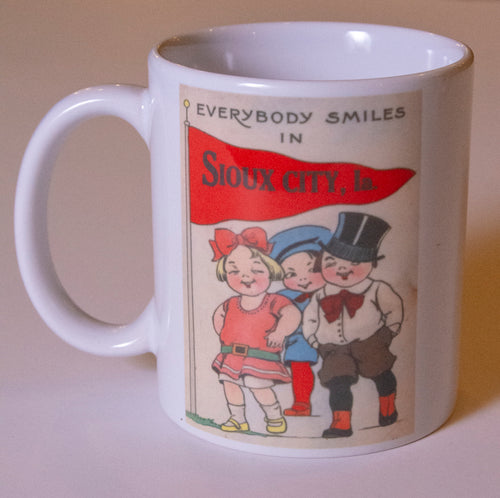 Everybody Smiles in Sioux City Coffee Mug