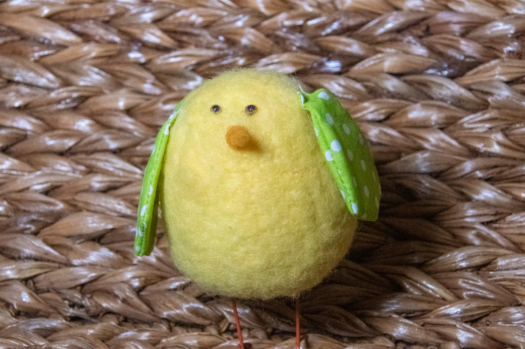Felt Chicks for Easter and Spring