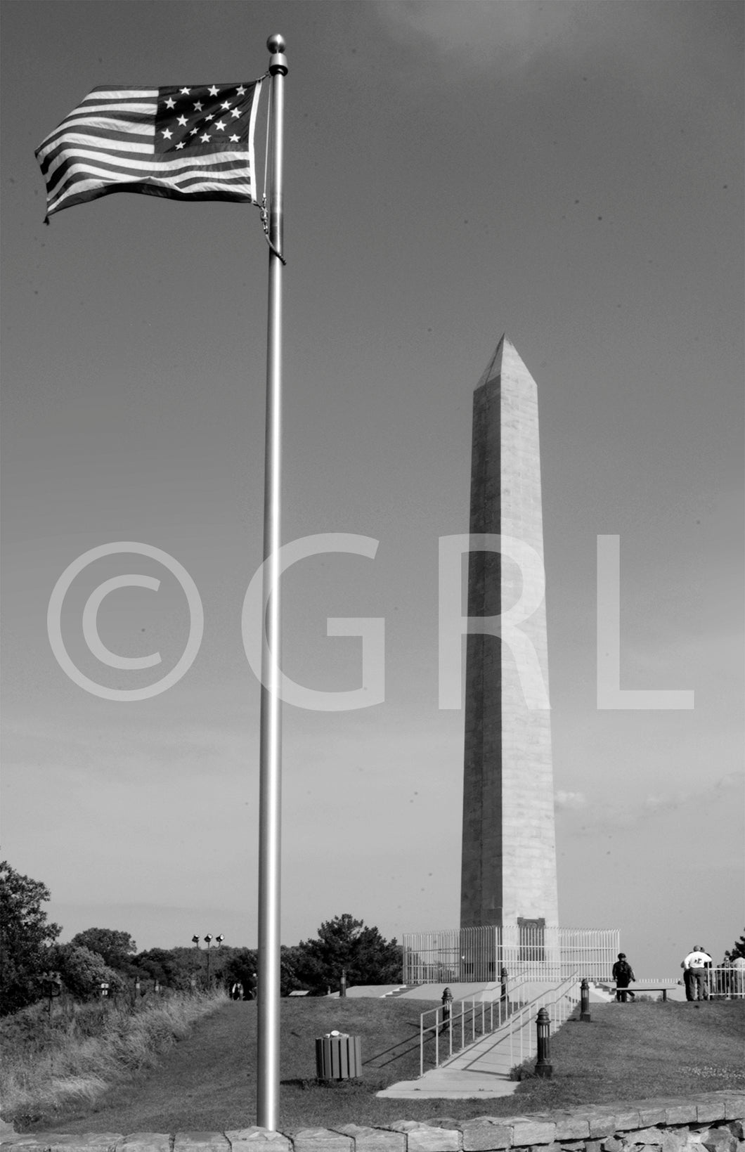 Floyd Monument Photo Print Black/white Art