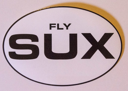 Fly SUX Bumper Sticker