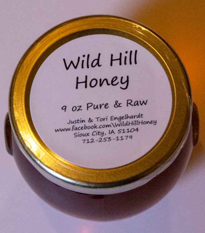 Wild Hill Honey 9 ounce for the Pantry
