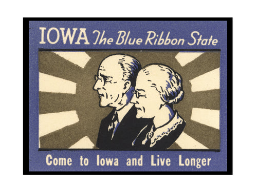 Come To Iowa and Live Longer Wall Art