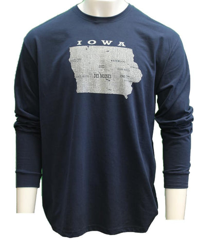 Iowa Home Town Long Sleeve T-shirt