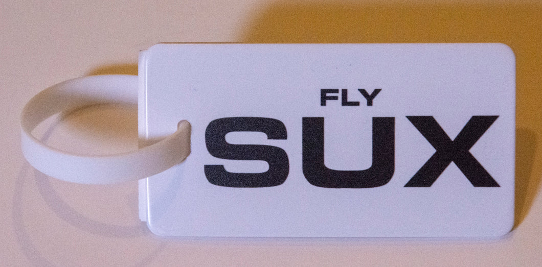 FLY SUX Luggage Tag