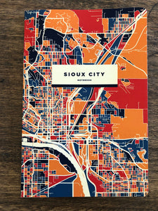 Sioux City Map Notebook