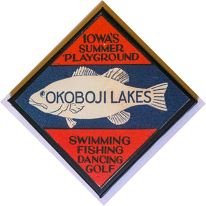 "Okoboji Lakes 8"" Canvas Art"