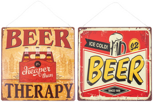 Metal Beer Hanging Sign