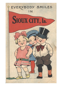 Everybody Smiles in Sioux City Vintage Note Cards