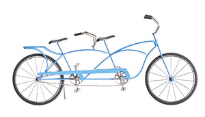 """Doodles"" Tandem Bicycle for home decor"