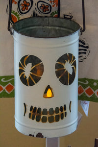 Skeleton Luminary for Halloween