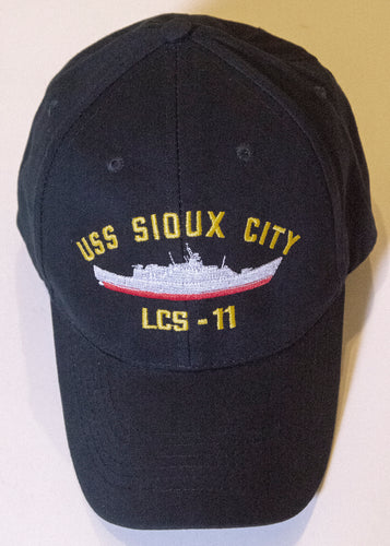 USS Sioux City Baseball Cap