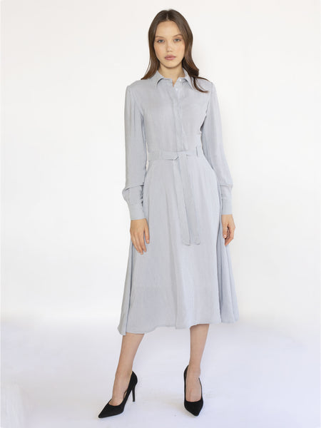 Knee Length Shirt Dress
