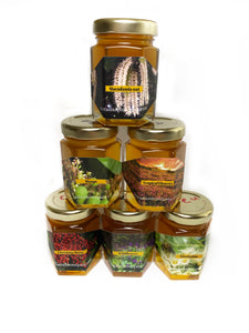Sample Pack 5 jars (3oz each) - Hawaiian Honey AT&S