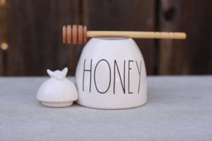 Honey Pot with dipper - Hawaiian Honey AT&S
