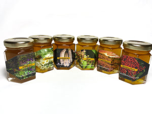 Sample Pack 5/6 jars (3oz each) - Hawaiian Honey AT&S