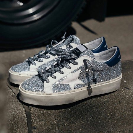 Sliver Bling Holiday Sneakers