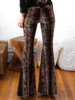 Leopard Sexy Shift Pants