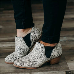 Women Casual Daily Spots Slip On Booties