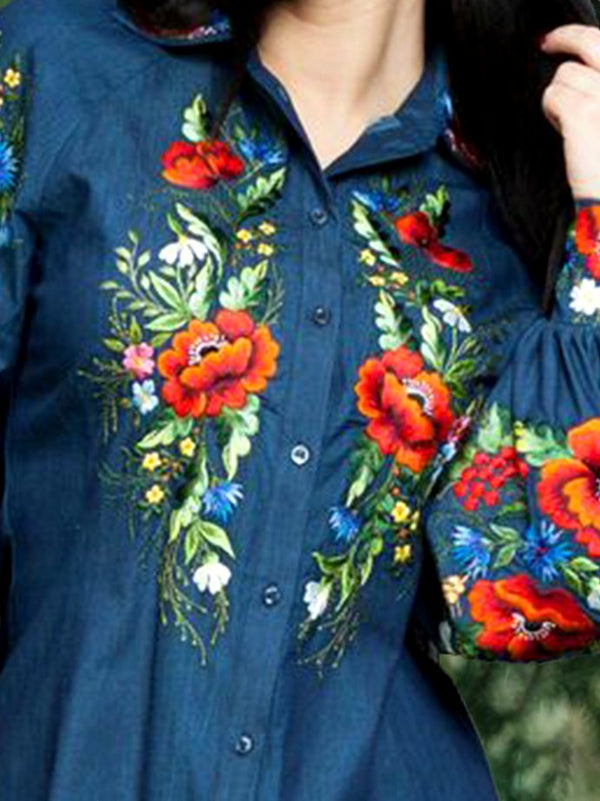 Shift Floral Casual Shirts