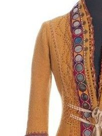 Ethnic embroidered waist coat