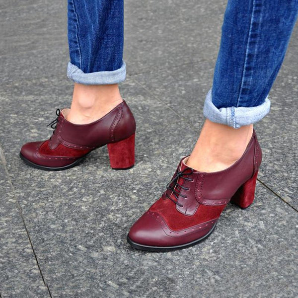 Women Casual Oxford Shoes