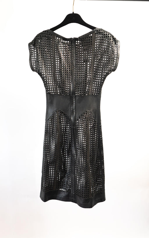 McQ leather dress