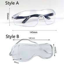 Load image into Gallery viewer, Protective Goggles Adjustable Safety Eye wear - Bella Trading Post