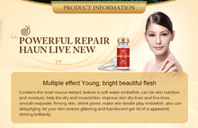 Load image into Gallery viewer, High Quality Snail 100% Essence Hyaluronic Acid Liquid Whitening Serum - Bella Trading Post