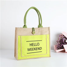 Load image into Gallery viewer, High Quality Women Linen Luxury Tote Lady Daily Handbag - Bella Trading Post