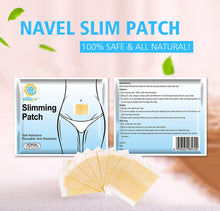 Load image into Gallery viewer, Weight Loss Navel Slimming Patch Slimming Patch Fat Burning Adhesive - Bella Trading Post