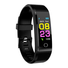 Load image into Gallery viewer, Fitness Tracker Smartwatch for Men and Women Heart Rate Monitor Blood Pressure for ios android - Bella Trading Post