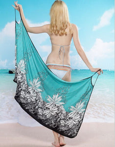 Green Bikini Cover Up Holiday Beachwear For Women - Bella Trading Post
