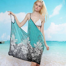 Load image into Gallery viewer, Green Bikini Cover Up Holiday Beachwear For Women - Bella Trading Post