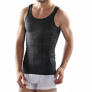 Men's Corset Body Slimming Wrap Tummy Shaper Vest - Bella Trading Post