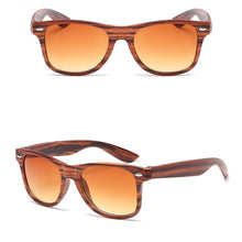 Load image into Gallery viewer, Women's Luxury Sunglasses Imitation Wood Classic Vintage Outdoor Travel - Bella Trading Post