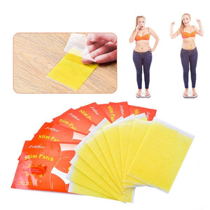 Slimming Navel Sticker Burning Patch 10 pcs ( 1 bag = 10 pcs ) - Bella Trading Post