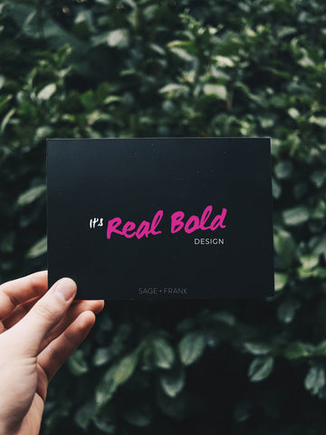 Real Bold Brand Canva Template