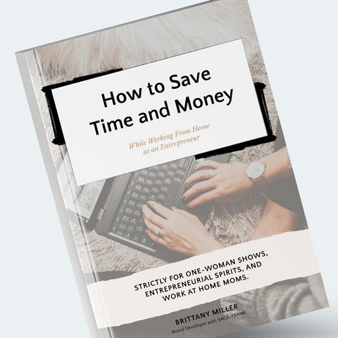 How to Save Time and Money Ebook