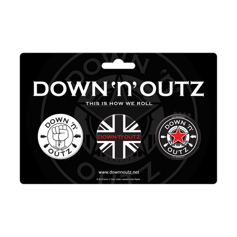 Down 'n' Outz Button Set