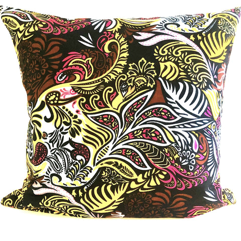 Color Me Happy Pillow Cover