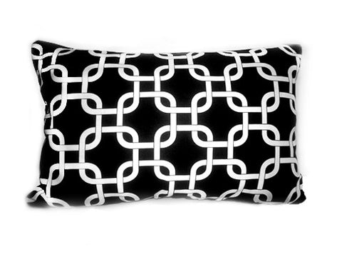 Small Chain Link black 12x16